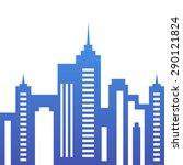 vector city buildings... | Shutterstock .eps vector #290121824