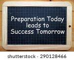 The Phrase Preparation Today...