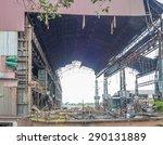 industry in ruins   Shutterstock . vector #290131889