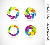 vector company logo icon...   Shutterstock .eps vector #290139980