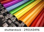 printing machine | Shutterstock . vector #290143496