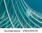 modern office building facade   | Shutterstock . vector #290149370