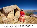 local people   peru  uros... | Shutterstock . vector #290150810