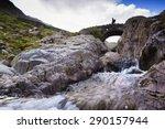 A Hiker Crosses Stockley Bridg...
