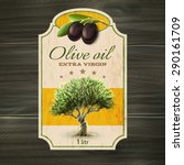 best quality extra virgin olive ... | Shutterstock .eps vector #290161709