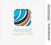 clean elegant circle shaped... | Shutterstock .eps vector #290162030