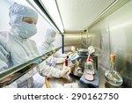 female science researchers in... | Shutterstock . vector #290162750