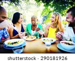friends friendship outdoor... | Shutterstock . vector #290181926