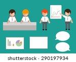 business group set vector | Shutterstock .eps vector #290197934