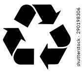 recycle symbol | Shutterstock .eps vector #290198306