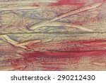 colored texture of an old tree | Shutterstock . vector #290212430