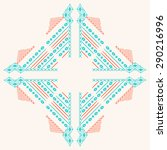 ethnic embroidery for fashion... | Shutterstock .eps vector #290216996