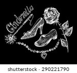cinderella fairy tale   Shutterstock .eps vector #290221790