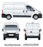 vector service car template.... | Shutterstock .eps vector #290231909