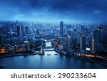 Skyline Of Shanghai At Sunset ...