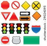 A Collection Of Vector Traffic...