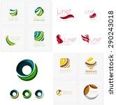 abstract company logo mega... | Shutterstock . vector #290243018