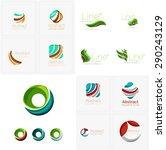 abstract company logo mega... | Shutterstock . vector #290243129
