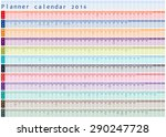 Planner Calendar 2016   With...