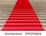 red carpet  concert hall berlin  | Shutterstock . vector #290254826