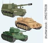 military transportation... | Shutterstock .eps vector #290275028