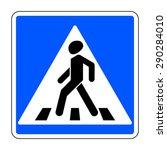 Pedestrian Crossing Sign....