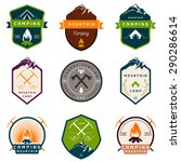 set of vector logos and badges... | Shutterstock .eps vector #290286614