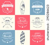 set of vector logos and badges... | Shutterstock .eps vector #290286623