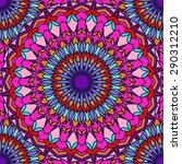 hand drawing seamless... | Shutterstock . vector #290312210