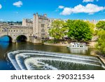 View Of The Pulteney Bridge...