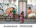 paraty  brazil   april 4  2015  ... | Shutterstock . vector #290331368