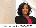 african american businesswoman. | Shutterstock . vector #290366279