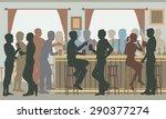 eps8 editable vector cutout... | Shutterstock .eps vector #290377274