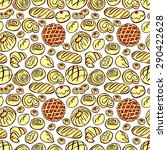bakery products. vector... | Shutterstock .eps vector #290422628
