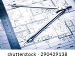 rolls of architecture... | Shutterstock . vector #290429138
