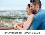 portrait of young tourist... | Shutterstock . vector #290431136