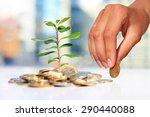 Successful Investment. Plant...
