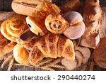 assortment of pastry   Shutterstock . vector #290440274