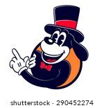vintage toons  retro cartoon... | Shutterstock .eps vector #290452274