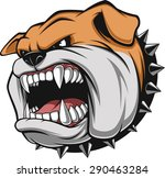angry dog | Shutterstock .eps vector #290463284