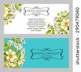 spring delight collection.... | Shutterstock .eps vector #290479040
