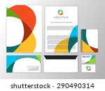 creative colorful infinity... | Shutterstock .eps vector #290490314