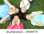 happy asian family  series  | Shutterstock . vector #2904975