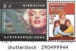 gibraltar   circa 1995. a... | Shutterstock . vector #290499944