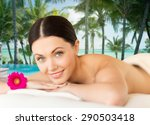 people  beauty and body care... | Shutterstock . vector #290503418