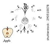 numbers game  apple  | Shutterstock .eps vector #290510078