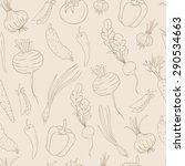 seamless vector pattern with... | Shutterstock .eps vector #290534663