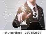 business  technology and... | Shutterstock . vector #290552519