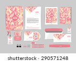 corporate identity template for ... | Shutterstock .eps vector #290571248