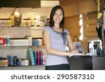portrait beauty product shop... | Shutterstock . vector #290587310
